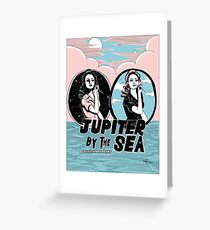 Jupiter by the Sea : Night and Day Greeting Card