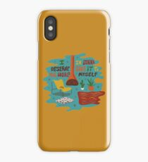 I deserve the world iPhone Case
