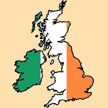 The United Kingdom of Ireland Ireland and Ireland by limabean-exe