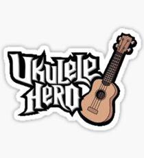 Ukelele Hero Sticker