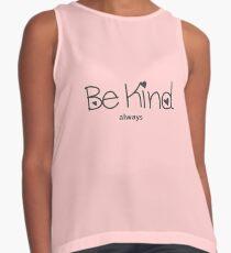 Be Kind Always Sleeveless Top