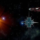 Encounter in Deep Space by Hugh Fathers