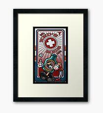 Dr. Zed's Meds Framed Print