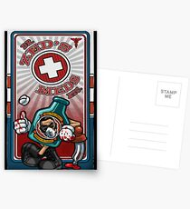 Dr. Zed's Meds Postcards