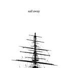 Sail Away Scandinavian Art Typography by Fangpunk