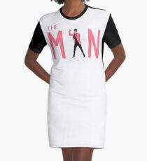 The Man Graphic T-Shirt Dress