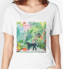 Panthère de la jungle T-shirts coupe relax