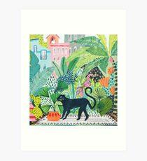 Lámina artística Jungle Panther