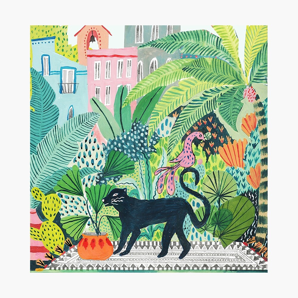 Jungle Panther  Photographic Print