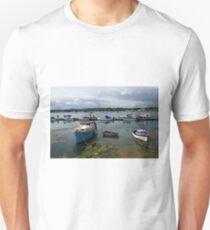 Bembridge Harbour Scene Unisex T-Shirt