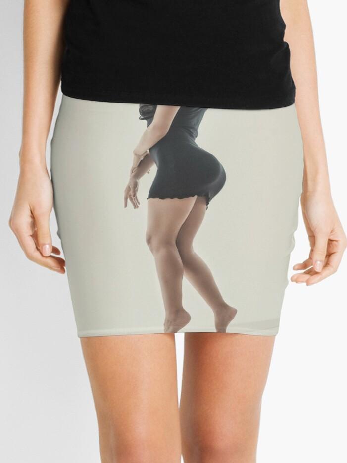 Perfect Latina Girl Beautiful Latina Girl In Tight Dress Mini Skirt