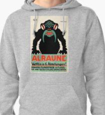 1918 Alraune Hungarian Horror Film Movie Poster Pullover Hoodie