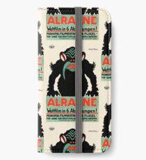 1918 Alraune Hungarian Horror Film Movie Poster iPhone Wallet/Case/Skin