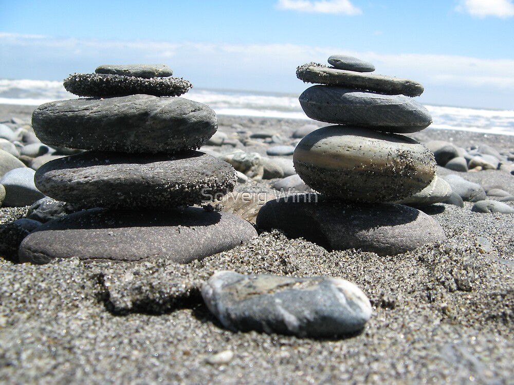 NZ - Zen there were 2 by Solveig Winn