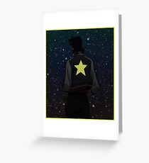 A Dandy Guy In Space Greeting Card