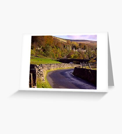 Yorkshire Dales Road Greeting Card