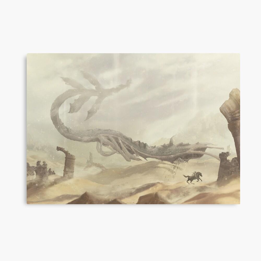 Phalanx's Shadow (5 Left!) Canvas Print