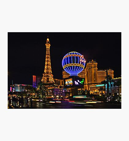 Eiffel Tower in LV Photographic Print