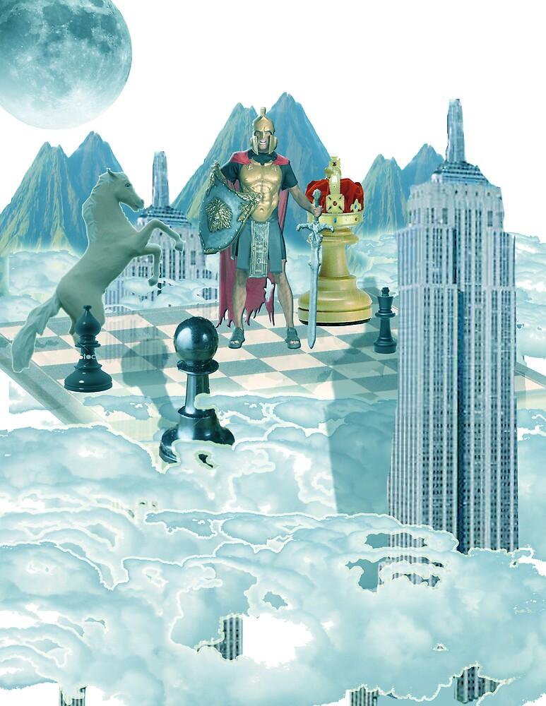 surreal chess by Kris Cedillo