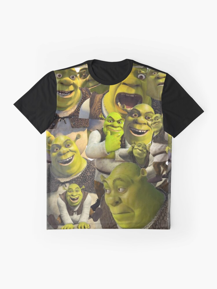 Vista alternativa de Camiseta gráfica Shrek