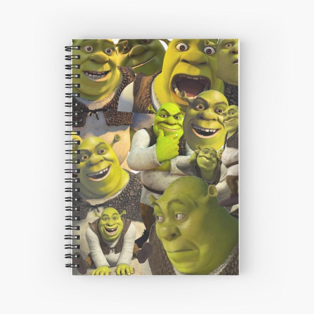Shrek Spiralblock