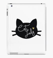 Cat Lady iPad Case/Skin