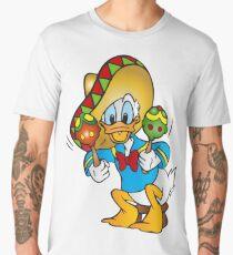 Donald Duck Sombrero Maracas Men's Premium T-Shirt