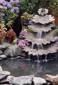 five leaf  water feature pond by Stephan  Kraft