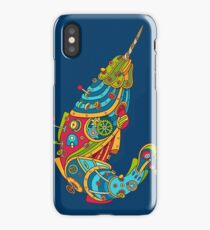 Narwhal, cool art from the AlphaPod Collection iPhone Case