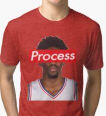 Joel Embiid Philadelphia 76ers Sixers Process Tri-blend T-Shirt