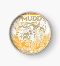 Mud Truck Play Muddy Mega Fun Clock