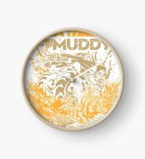 Mud Truck Play Muddy Mega Fun Clock