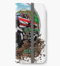 Mud Truck USA Country Style iPhone Wallet/Case/Skin