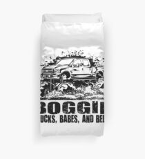 Mud Truck Boggin Babes and Beers Duvet Cover