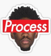 Joel Embiid Philadelphia 76ers Process Sticker