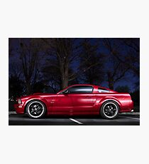 CarAndPhoto - Ford Mustang  Photographic Print
