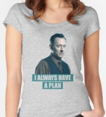 I always have a plan (Benjamin Linus) - LOST Women's Fitted Scoop T-Shirt