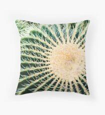 Barrel cactus Throw Pillow