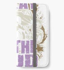 Mud Truck Mega Purple I Play iPhone Wallet/Case/Skin