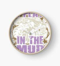 Mud Truck Mega Purple I Play Clock