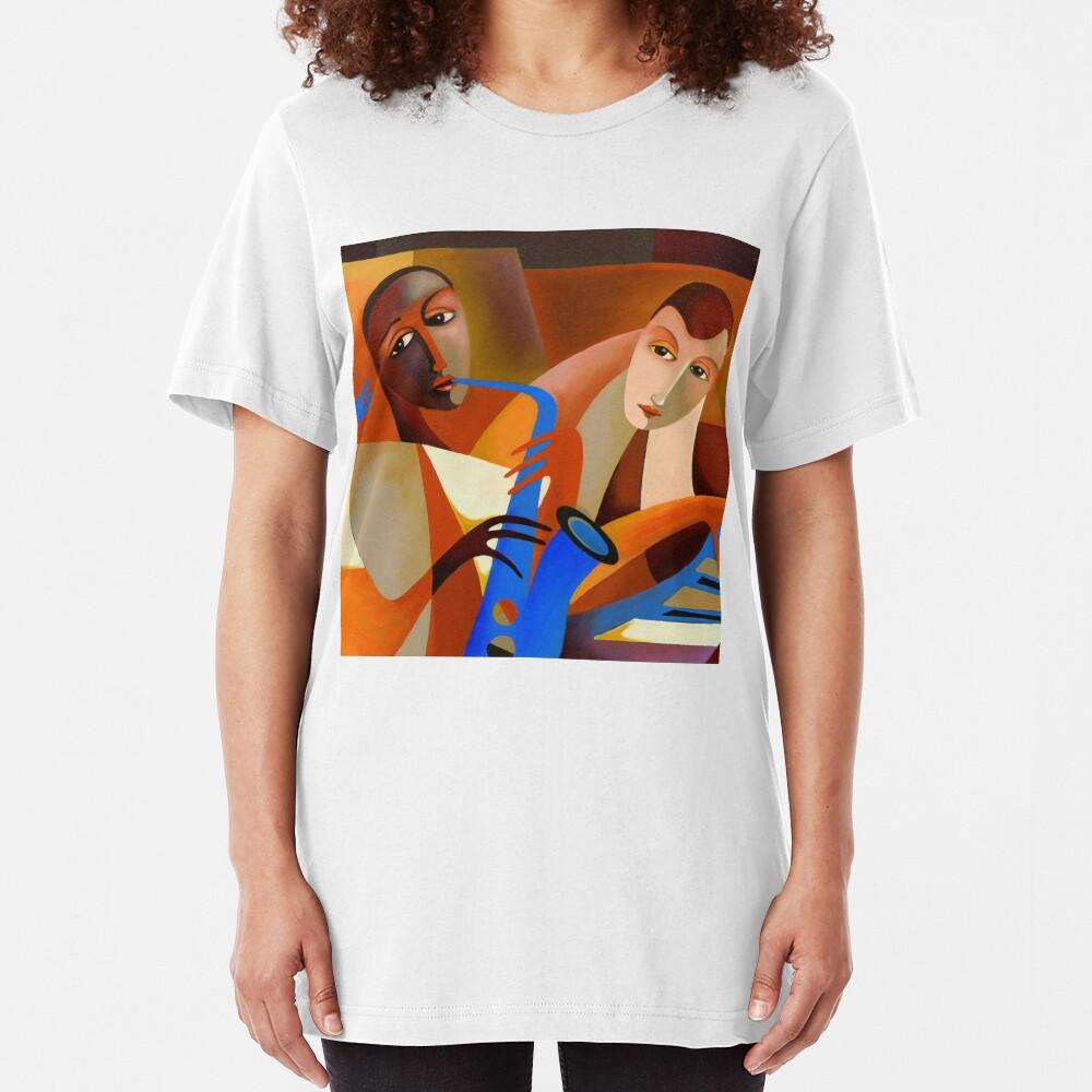ORNITHOLOGY - CHARLIE PARKER WITH DODO MARMAROSA 1946 Slim Fit T-Shirt