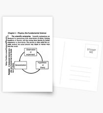 General Physics PHY 110 Postcards