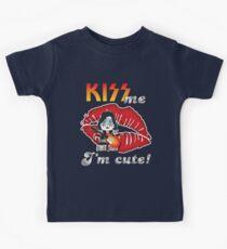 Kiss me... I´m cute! (band) Spaceman Kids Tee