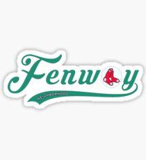 Fenway Geotag Sticker