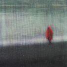 Solitude in snow by Geraldine Lefoe