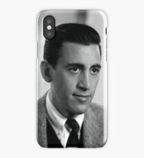 JD salinger iPhone Case/Skin