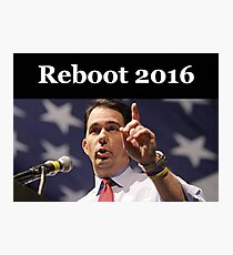 Scott Walker for President 2016 Photographic Print