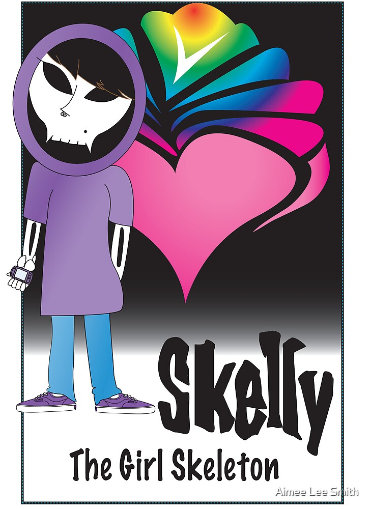 Skelly Character Card (front) by Aimee Lee Smith