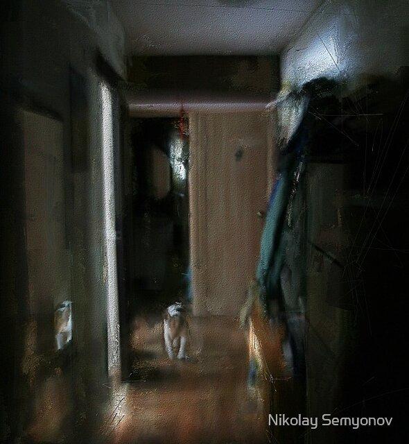 Corridor in the Afternoon by Nikolay Semyonov