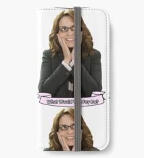 Tina Fey - What Would Tina Fey Do? iPhone Wallet/Case/Skin